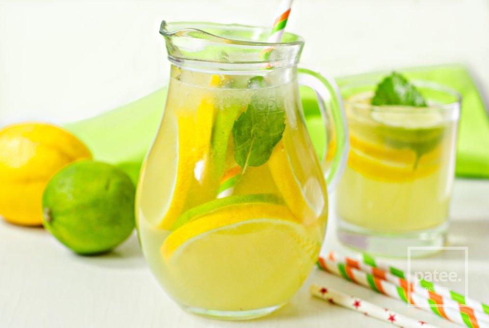 Лимонад лимонно-имбирный, порция общепит
