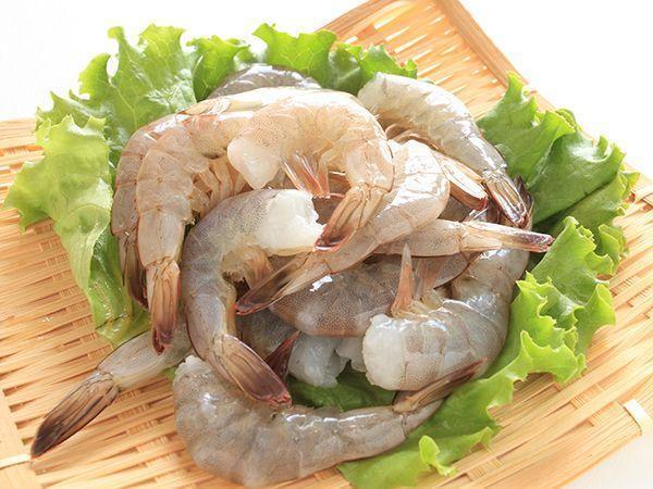 Креветка тигровая хвосты, зачищенные для салатов, полуфабрикат
