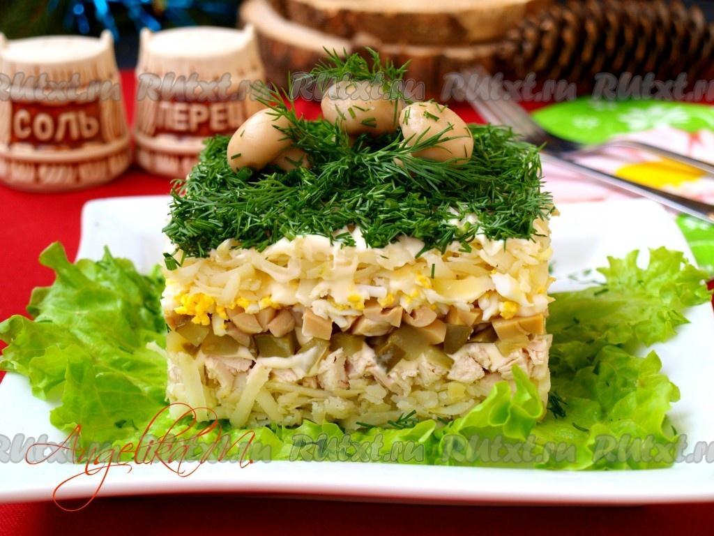 Салат Дубок, 1 кг полуфабрикат кулинарный