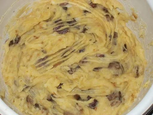Фарш картофельный для вареников, полуфабрикат общепит