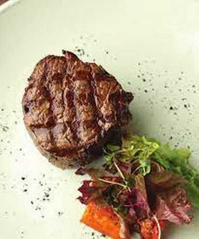 Ranch Steak (Ранч стейк) с цитрусовой сальсой
