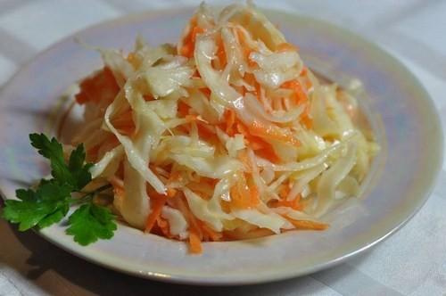Салат из корейской капусты