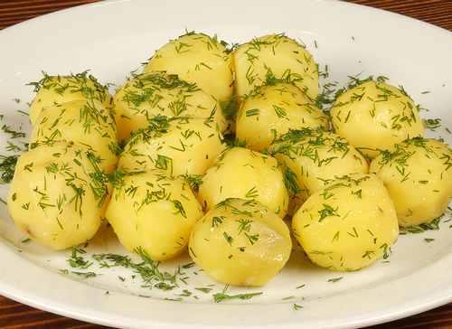 Рецептура блюда Картофель отварной