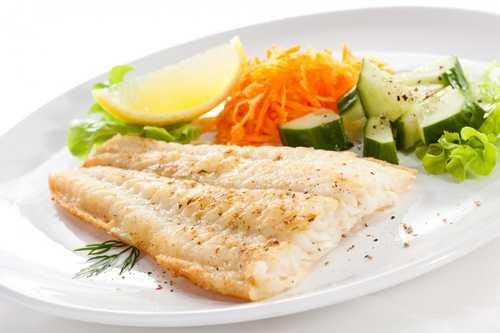 Рецептура блюда Рыба (филе) отварная
