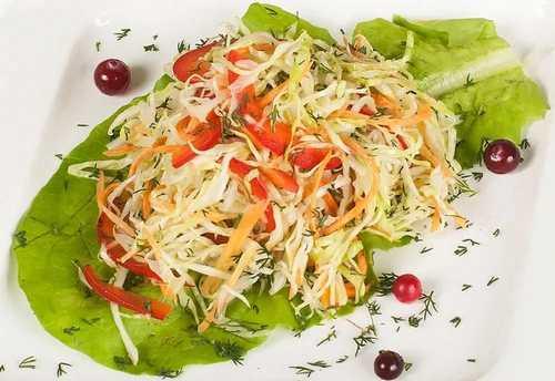 Рецептура блюда Салат витаминный (1-й вариант)