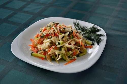 Рецептура блюда Салат витаминный (2-й вариант)