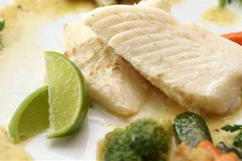 Рецептура блюда Рыба (семейства осетровых) отварная