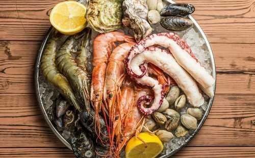 Обработка морепродуктов сборник рецептур