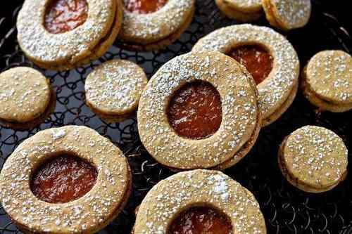 Печенье Сабле с мармеладом