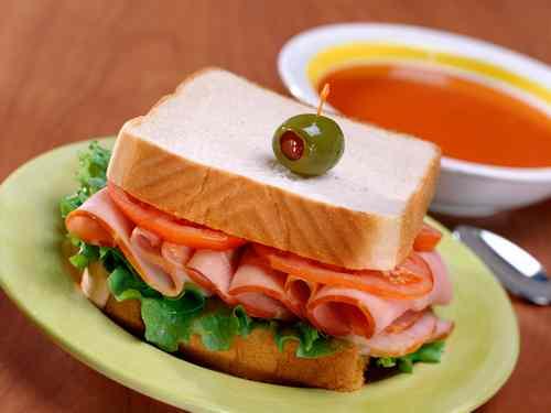 Рецептура блюда 3акрытые бутерброды с мясными кулинарными изделиями