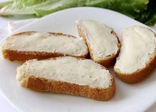Рецептура блюда Бутерброды с маслом