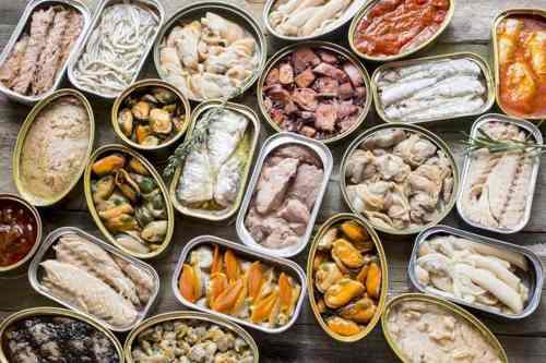 Рецептура блюда рыбные консервы (порциями)