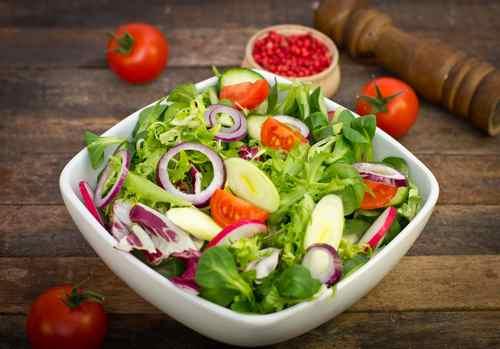 Рецептура блюда Салат «летний»