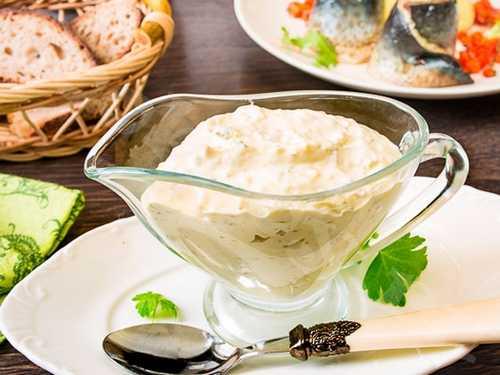 Рецептура блюда Соус майонез с корнишонами № 887