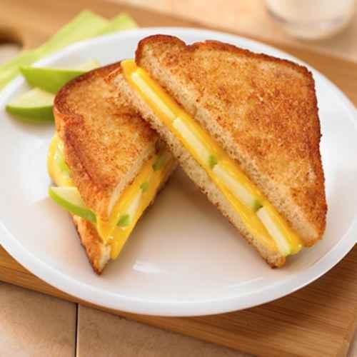 Рецептура блюда Закрытые бутерброды с сыром