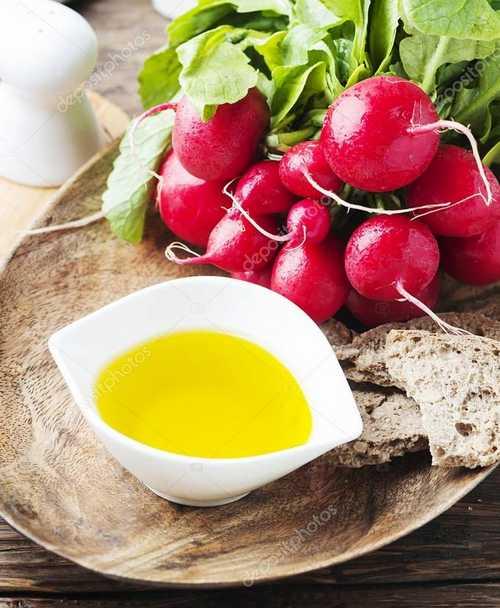 Рецептура блюда Редис с маслом