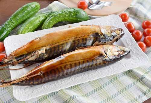 Рецептура блюда рыба горячего копчения (порциями)