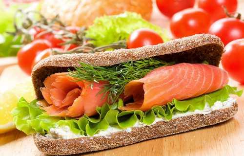 Рецептура блюда закрытые бутерброды с рыбными гастрономическими продуктами