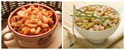 Рецептура блюда Бобовые отварные (1-й вариант) и (2-й вариант)