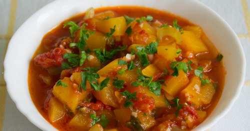 Рецептура блюда Рагу овощное (3-й вариант)