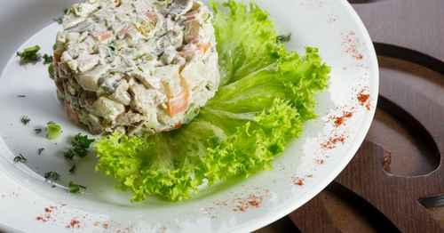 Рецептура блюда Салат столичный