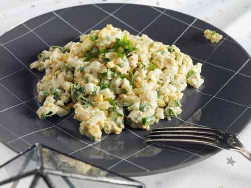 Рецептура блюда Салат яичный