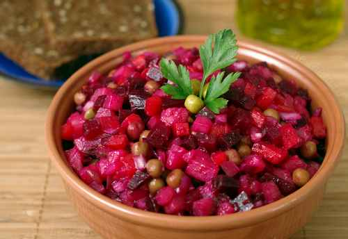 Рецептура блюда Винегрет овощной