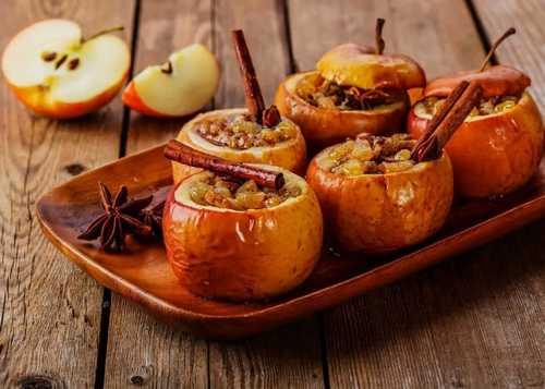 Рецептура блюда Яблоки печеные