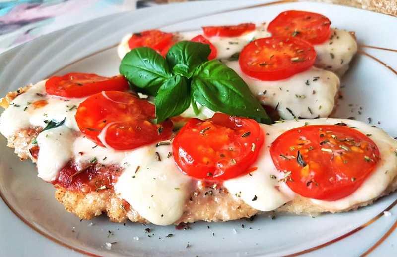 Рецептура блюда Филе с помидорами и соусом