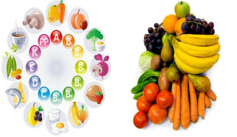 Правильное питание витамины