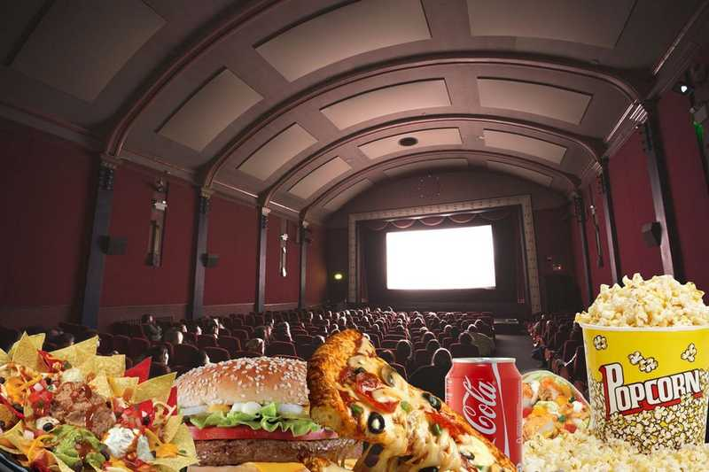 Здоровая альтернатива еде из кинотеатров
